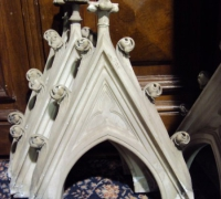 37A -set-of-6-antique-marble-spire-tops-for-back-bar-or-cabinet