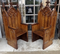 1441-sold -pair-of-antique-carved-gothic-chairs