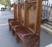 72-set-of-3-antique-carved-gothic-benches-chairs