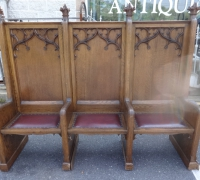 73-set-of-3-antique-carved-gothic-benches-chairs