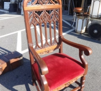 89- sold - antique-carved-gothic-chair
