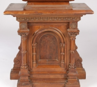 93-sold-antique-carved-gothic-pulpit