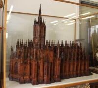 19A...1 OF THE FINEST CARVED ANTIQUE CATHEDRAL MODELS IN THE WORLD...57