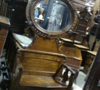 10- sold - antique-carved-hall-rack