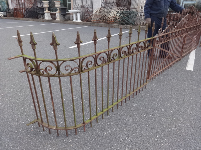 Antique Iron Fences And Driveway Gates For Sale Oley Valley