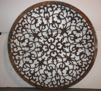 100-great-antique-iron-ceiling-medallion-48-w-can-be-a-table-top