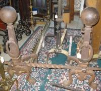 12-200-antique-iron-andirons-firetools-fenders-screens-check-antique-iron-category