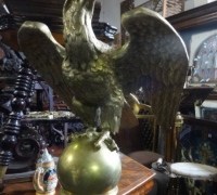 174 - brass-eagle-lectern - 61'' h x 21'' w x 19'' d - c.1880