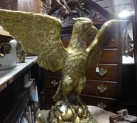 177 -brass-eagle-lectern- 61'' h x 21'' w x 19'' d - c.1880