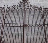 02-a-great-antique-driveway-gates-1-set-of-4-pcs-15-ft-w-x-12-ft-h-1-set-of-2-pcs-8ft