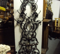 23- sold - antique-iron-hall-rack