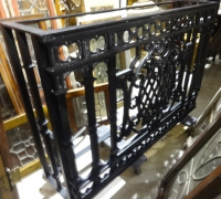 65-sold -antique-iron-console-table