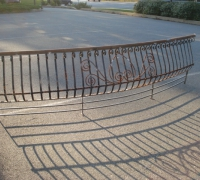 74-antique-curved-iron-fence