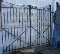 76-4-pairs-antique-iron-gates-6-w-x-6-h
