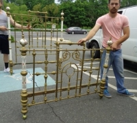 341 -Antique Iron Fence & Brass Beds for Sale in PA