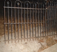 256-sold - 400FT - 40'' H - 2 1/2'' BETWEEN BARS - X THICK 1/2''