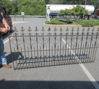 0381A....45 FT. X 46 IRON FENCING...SEE ADD. PHOTOS 380 & 381