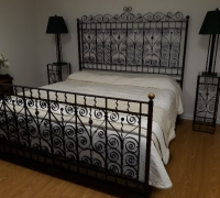 01B...SOLD EXAMPLE.... MADE FROM ANTIQUE RAILING