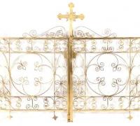 62 BRONZE GATES 43 H X 30 W