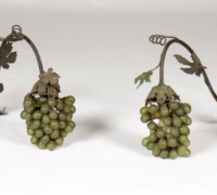222- sold -pair-of-antique-grape-and-vine-lights