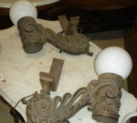 35-pair-of-antique-iron-lights