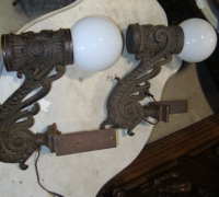 45-pair-of-antique-iron-wall-lights