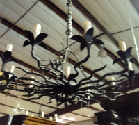 50-6-pcs-antique-deco-period-finest-hand-cut-iron-chandelier-light-36-w-x-11-h-x-41-h-w