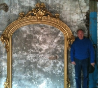 006-great-unique-shape-antique-mirror-circa-1870-72in-w-x-94in-h-x-12in-diam