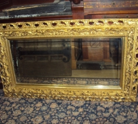 045-antique-carved-mirror
