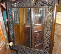 075- sold - antique-carved-mirror