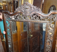076- sold -antique-carved-mirror