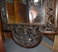 077- sold - antique-carved-mirror