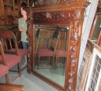 Carved Overmantle Mirrors in Pennsylvania