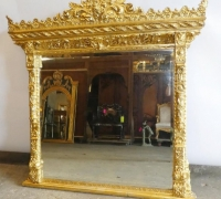 311....GILDED 64 X 64 MIRROR