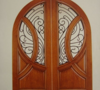 01-pair-of-new-iron-and-wood-arched-doors