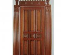 124-new-carved-wood-door