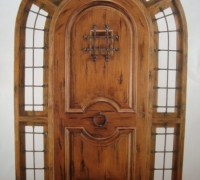 198-new-arched-iron-and-wood-door-with-sidelights