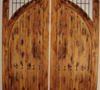 206-pair-of-new-iron-and-rustic-wood-doors