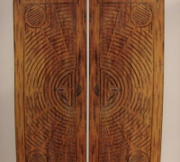 209-pair-of-new-wood-doors