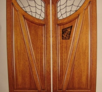 215-pair-of-new-iron-and-wood-doors