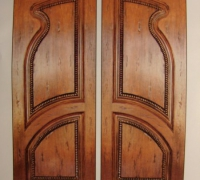 222-pair-of-new-carved-wood-doors