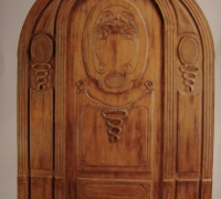 224-new-carved-wood-arched-door