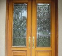 236-pair-of-new-beveled-glass-doors-with-transom