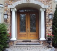 237-pair-of-new-beveled-glass-doors-with-transom-installed