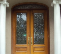 239-pair-of-new-beveled-glass-doors-with-transom-installed
