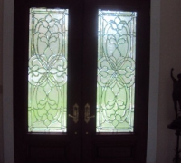 241-pair-of-new-beveled-glass-doors-with-transom-installed