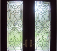 242-pair-of-new-beveled-glass-doors-with-transom-installed