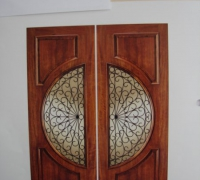 35-pair-of-new-iron-and-wood-doors