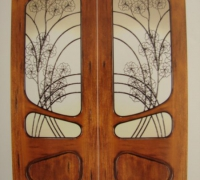 43-pair-of-new-iron-and-wood-doors