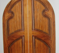 57-pair-of-new-arched-wood-doors